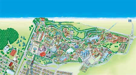 EuropaPark  One of the worlds leading themeparks